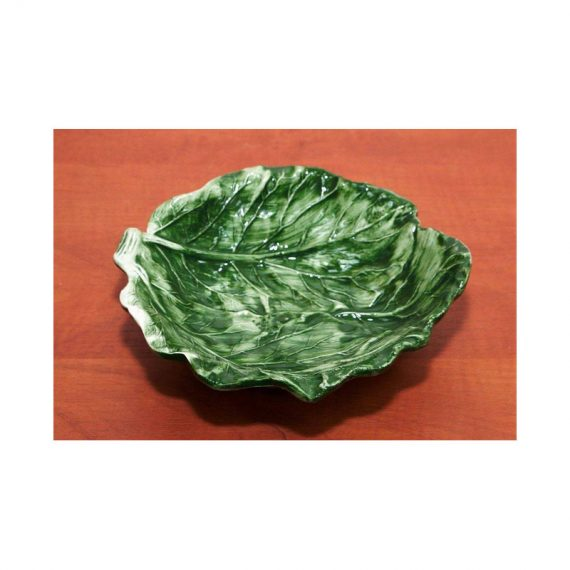 Miska ceramiczna liść kapusty