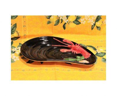 Półmisek ceramiczny muszla średni