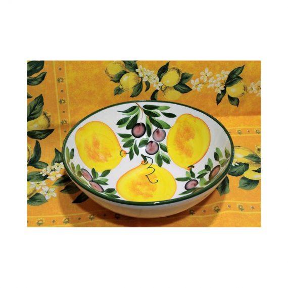 Miska ceramiczna cytryny duża