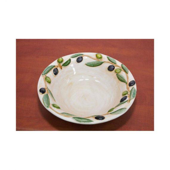 Miska ceramiczna oliwki okrągła