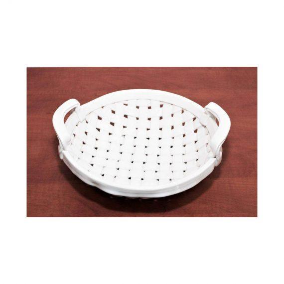 Koszyczek ceramiczny okrągły