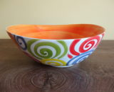 ceramika włoska miska koła